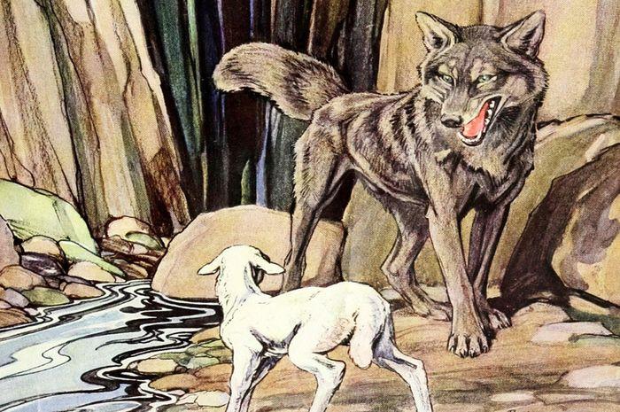 Serigala yang Bodoh