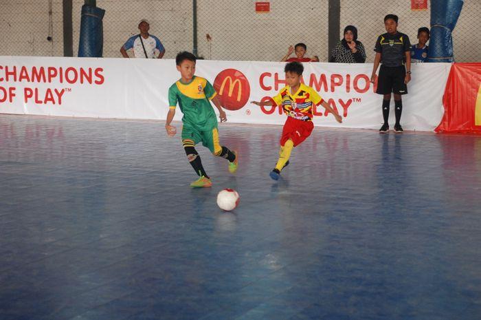 Pada hari Minggu, 29 Oktober 2017, 32 tim dari Wilayah Bandung bertanding dalam McDonald's Junior Futsal Championship 2017.