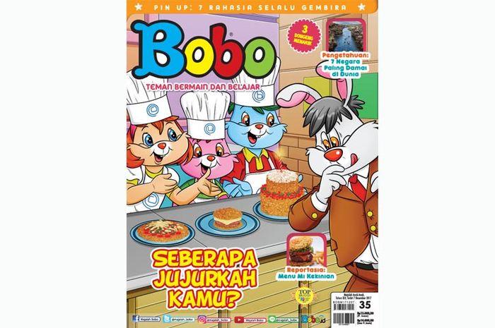 Majalah Bobo Edisi Terbaru 35 (Terbit 7 Desember 2017)