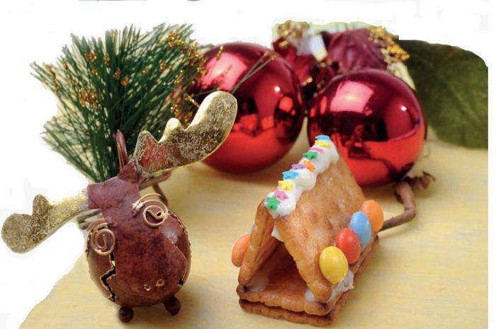 Rumah Biskuit untuk Natal