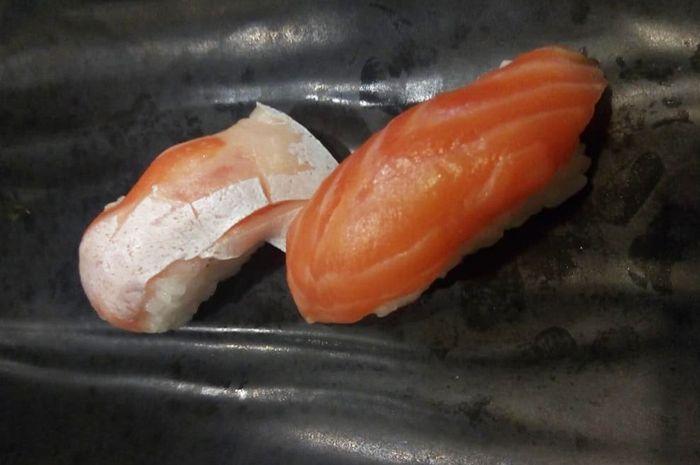 Sushi tuna dan salmon