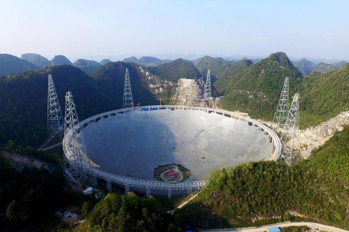 Tianyan, teleskop radio terbesar di dunia
