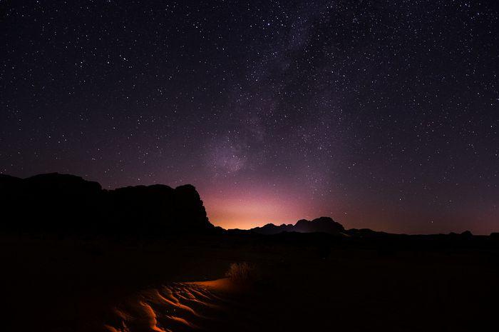 Wadi Rum dijuluki sebagai Lembah Bulan atau The Valley of the Moon.