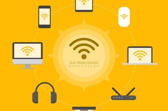 Wifi smartphone dapat terhubung ke gadget lainnya