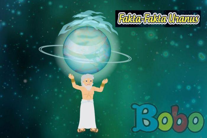 Planet Uranus, planet yang menggelinding