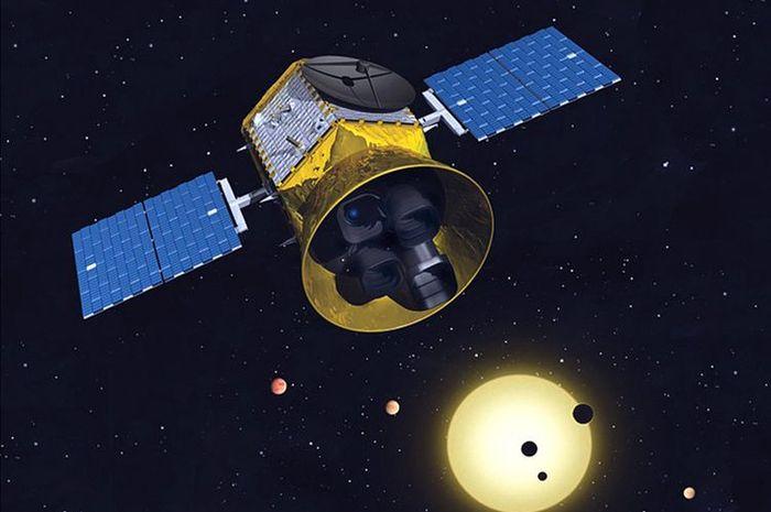 TESS bertugas mencari eksoplanet yang jaraknya cukup dekat dari Bumi.
