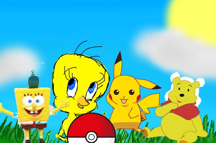 Kenapa tokoh kartun kebanyakan berwarna kuning?