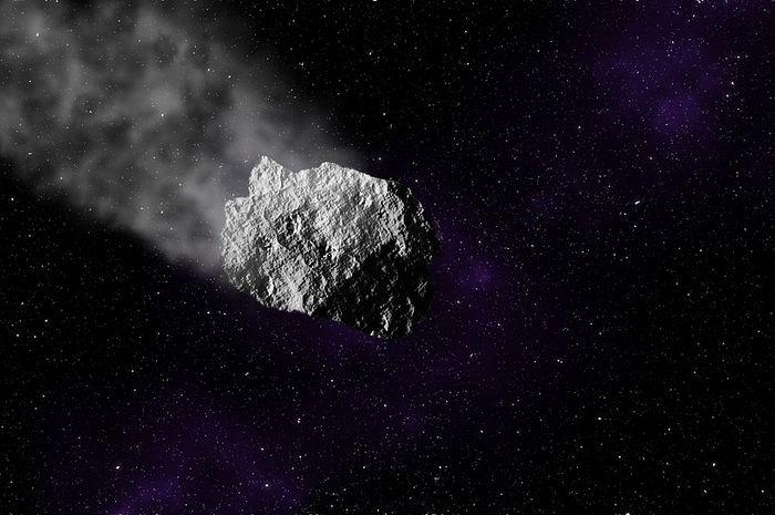 Ilustrasi Asteroid 2010 WC9