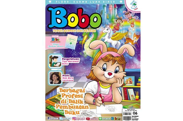 Majalah Bobo Edisi 06 (Terbit 17 Mei 2018)