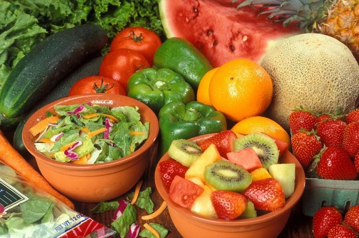 Sayur dan buah-buah berwarna mempunyai manfaat yang baik untuk kesehatan