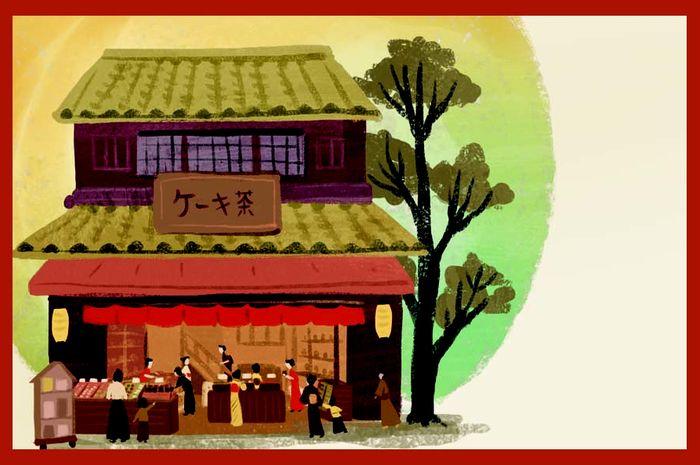Satu hari di musim semi, para pelayan di rumah Pak Shirozaemon tampak sibuk menyambut Festival Musim Semi untuk para gadis.