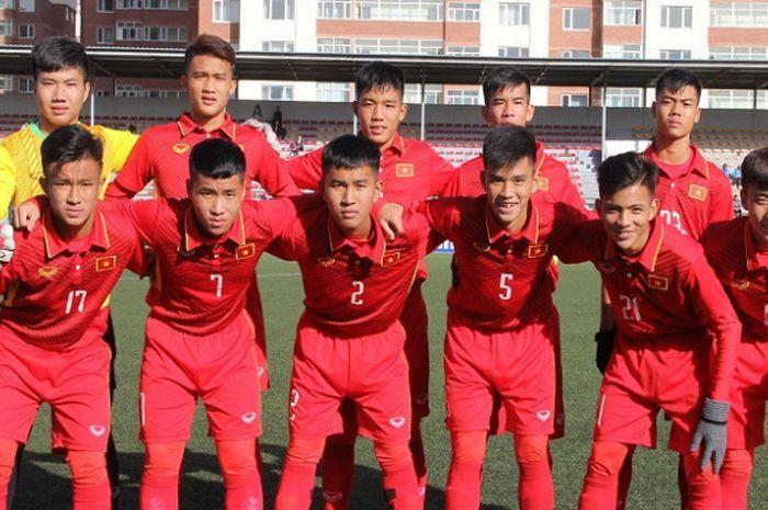 Timnas U-16 Vietnam bertekad lebih baik dari seniornya, Timnas U-23 Vietnam.