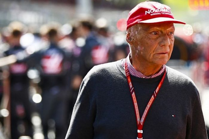 Legenda balap Formula 1 (F1) asal Austria, Niki Lauda, dilaporkan kembali dirawat di rumah sakit kar