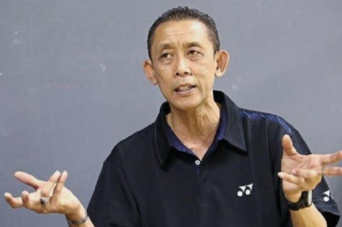 Pelatih tunggal putra Malaysia, Misbun Sidek.