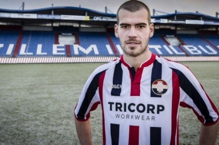 Wiljan Pluim di Willem II Tilburg.