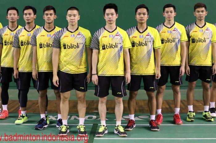 Skuat Piala Thomas Indonesia 2018