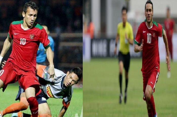 Ezra Walian dan Egy Maulana Vikri, dua pemain yang dipanggil timnas U-22 Indonesia.