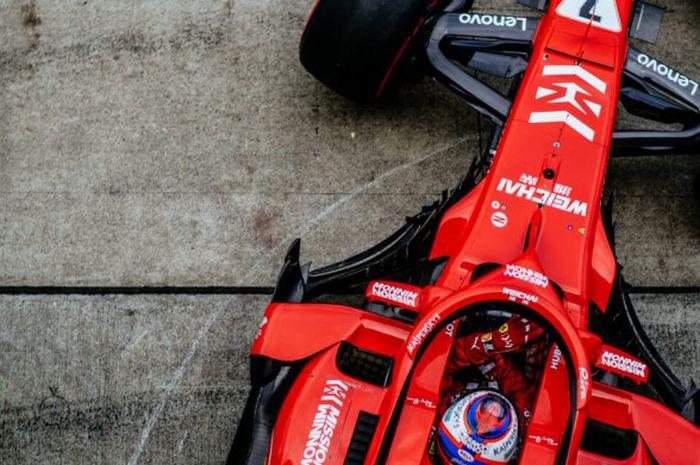 Livery Ferrari dengan sponsor Mission Winnow.