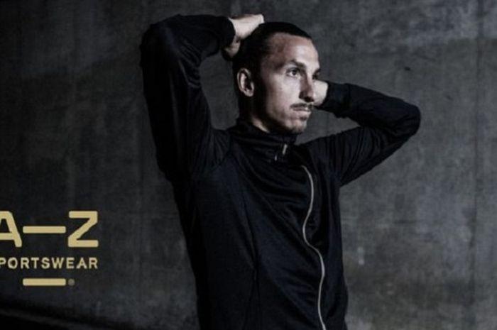 Bisnis feseyen Zlatan Ibrahimovic.