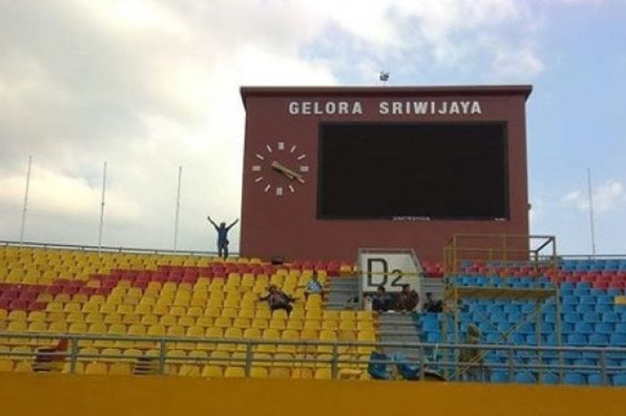 191 kursi di tribun Selatan stadion Gelora Sriwijaya Jakabaring telah selesai pada Selasa (24/7/2018) sore.
