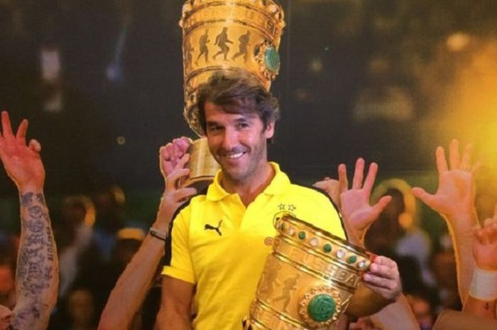 Legenda sepakbola Jerman, Karl-Heinz Riedle.