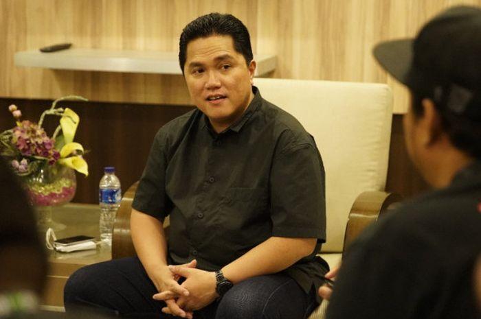 Ketua Dewan Penasihat PP Perbasi, Erick Thohir.
