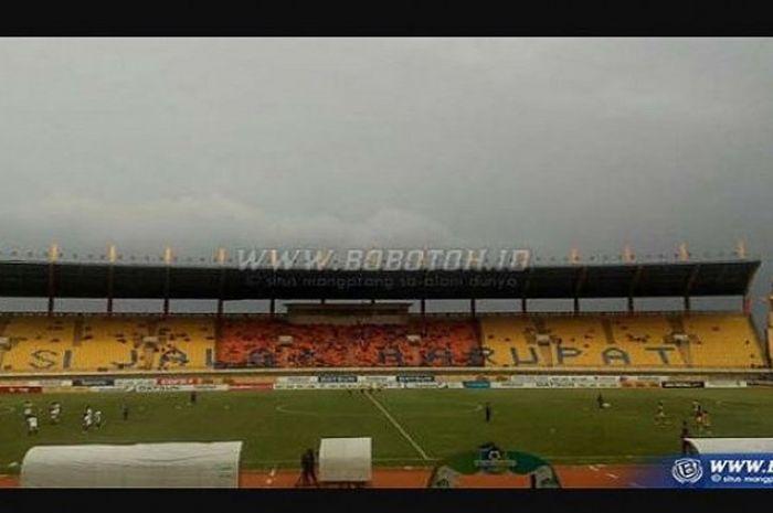 Stadion Si Jalak Harupat, Jumat (27/10/17)