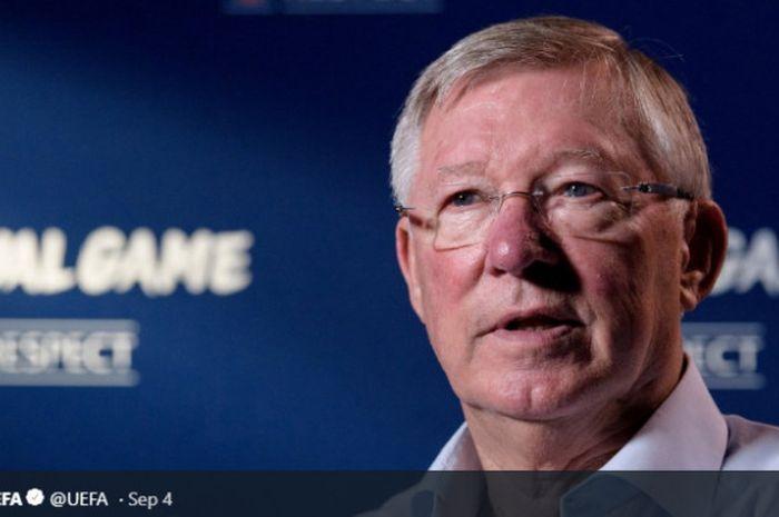 Mantan pelatih Manchester United, Sir Alex Ferguson.