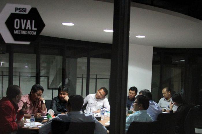 Rapat Komite Wasit dan PT LIB