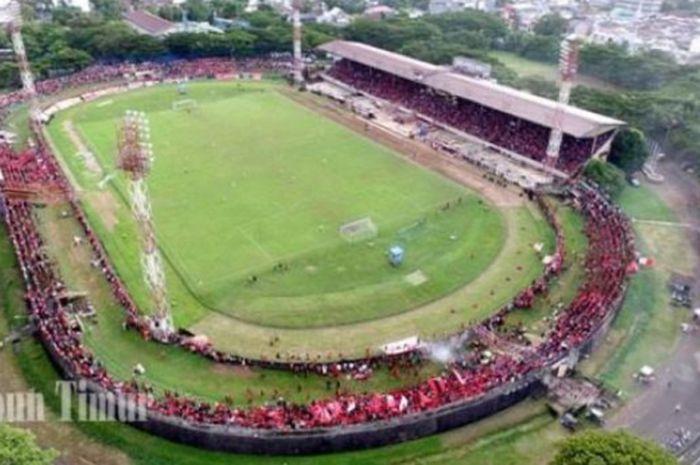 Stadion Andi Mattalatta Matoangin, merupakan kandang dari PSM Makassar