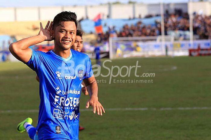 Eks pemain PSPS Riau, Tegar hening Pangestu.