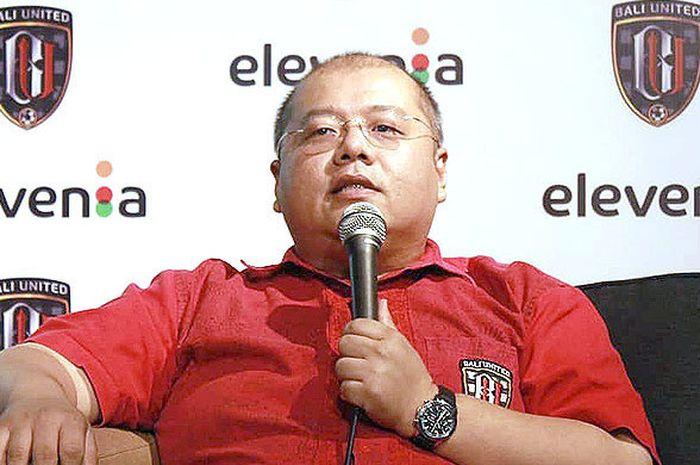 CEO Bali United, Yabes Tanuri.