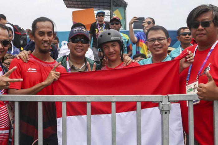 Skateboard Asian Games 2018 - Raihan 2 Perak dan 2 Perunggu Jadi Bekal  Menuju Olimpiade Tokyo 2020 - Bolasport.com 9d2e95c22e