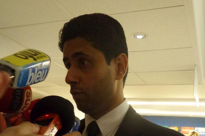 Nasser Al-Khelaifi, Presiden PSG.