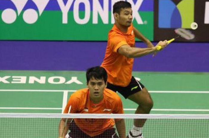 Ganda putra Indonesia, Berry Angriawan/Hardianto, berhasil melangkah ke babak kedua Hong Kong Open 2017.