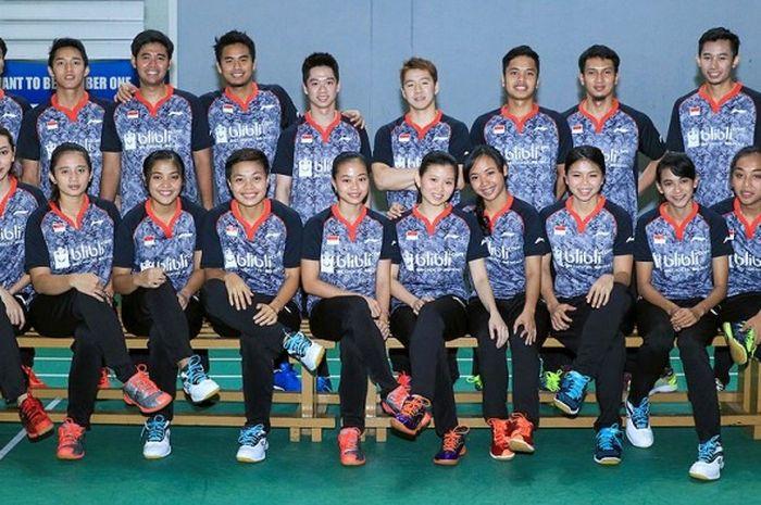 Tim Indonesia yang diturunkan ke Piala Sudirman 2017, terdiri dari 10 putra dan 10 putri.