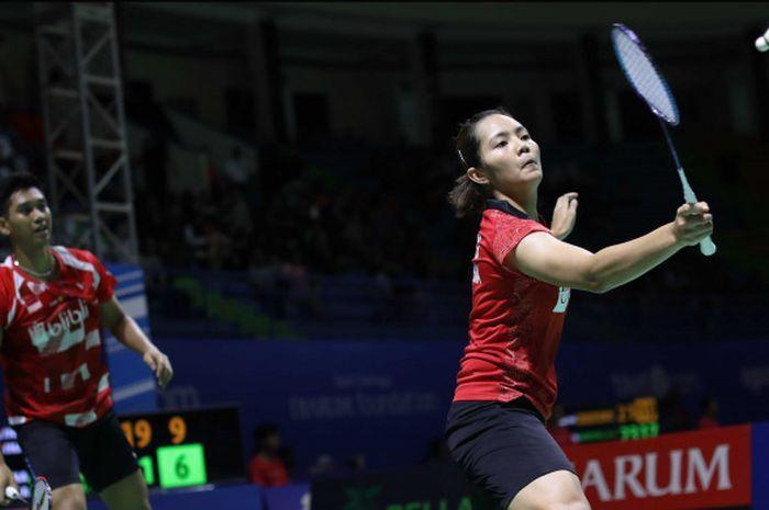 Alfian Eko Prasetya/Marsheilla Gischa Islami melaju ke final Chinese Taipei Open 2018.