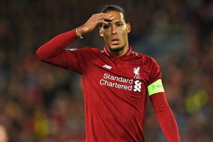 Dimata Legenda Liverpool, Van Dijk Tak Punya Kelemahan