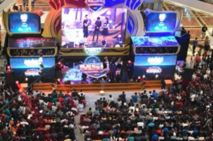 Salah satu pertandingan Mobile Legend yang diselengarakan di Indonesia