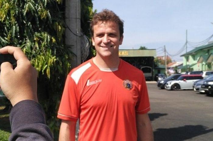 Eks Striker klub Swiss Super League, FC Lausanne Sport, Rodrigo Tosi (33), seusai menjalani seleksi