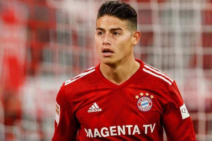 Pemain sayap Bayern Muenchen, James Rodriguez