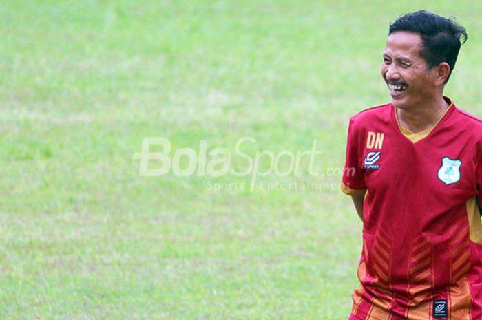 Pelatih PSMS Medan, Djajang Nurdjaman.