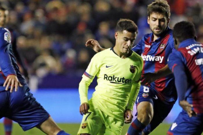 Gelandang Barcelona, Philippe Coutinho, sudah mendapat peringkat dari Juergen Klopp sebelum bergabung dengan klubnya saat ini.