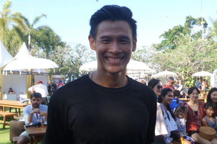 Mantan perenang Olimpiade 2004, Andi Wibowo, akan meramaikan Maybank Bali Marathon 2017 di Gianyar, Bali, Minggu (27/8/2017) WITA.