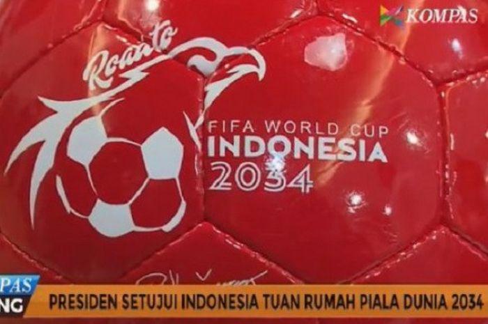 Indonesia tertarik menjadi tuan rumah Piala Dunia 2034.