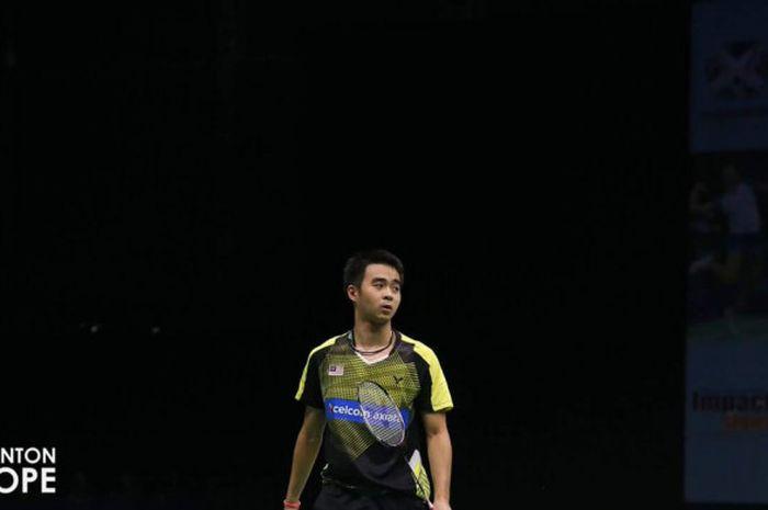 Pebulu tangkis tungal putra Malaysia, Soong Joo Ven.