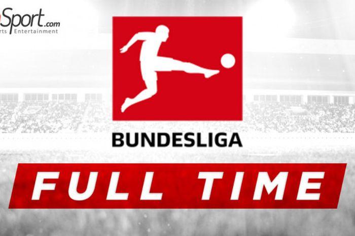 Ilustrasi hasil pertandingan Liga Jerman.
