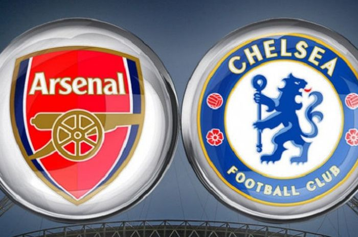 Link lve streaming Arsenal vs Chelsea pada babak final Piala FA