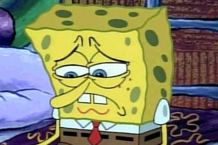 Gambar Spongebob Sedih Hd Artikelkuc