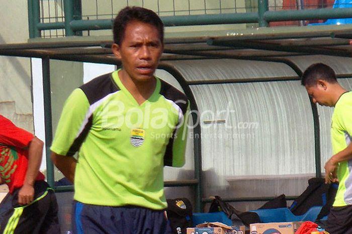 Budiman, pelatih Persib U-19.
